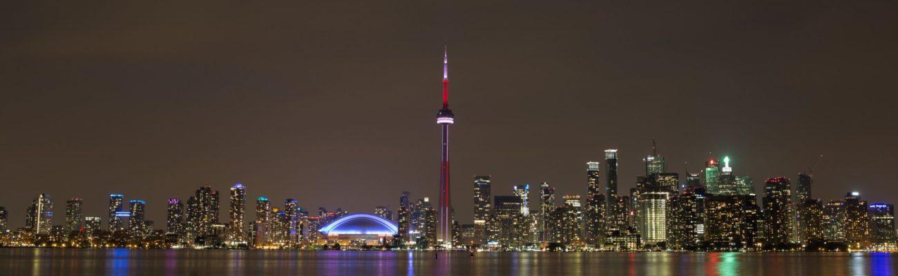 City lights, Toronto