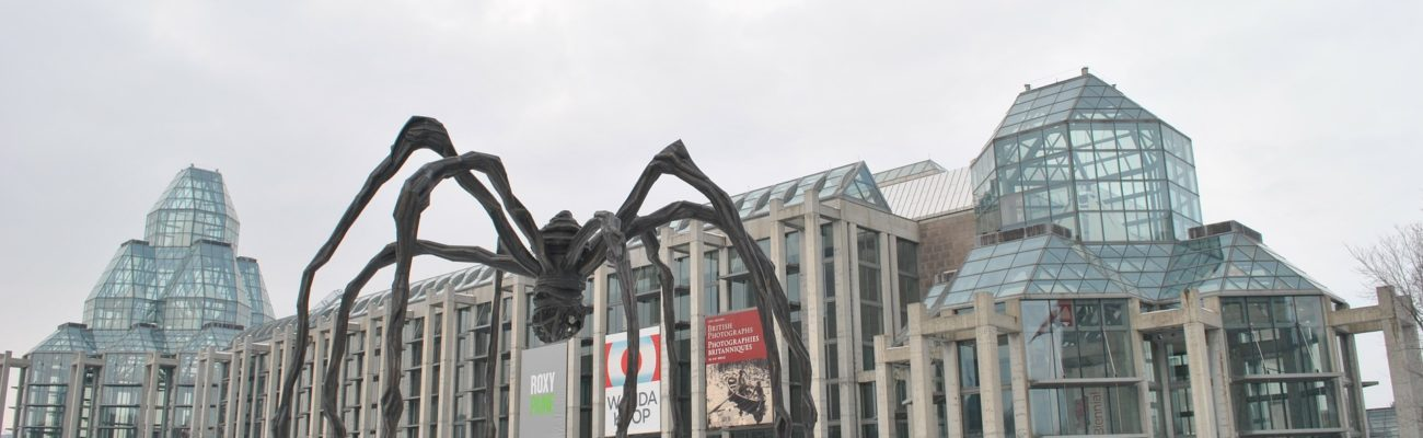 Maman statue and the N