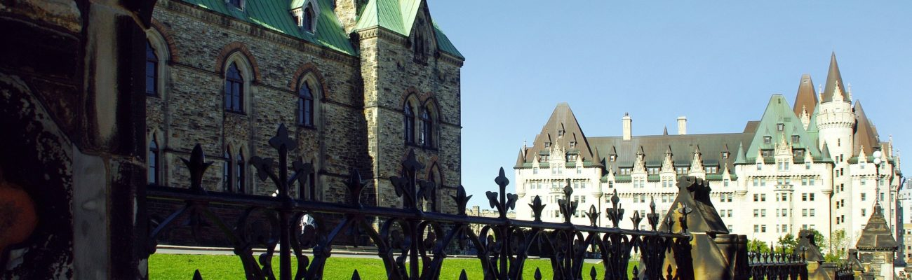 East and West block of Parliament, Ottawa