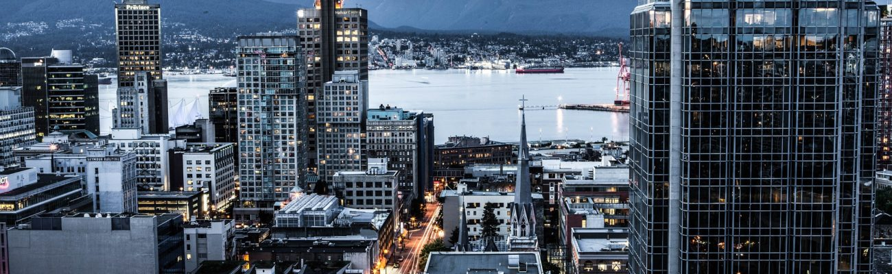 Cityscape of Vancouver, British Columbia