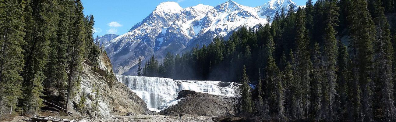 Wapta Falls, British Columbia