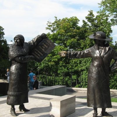 Women Are Persons Monument, Ottawa